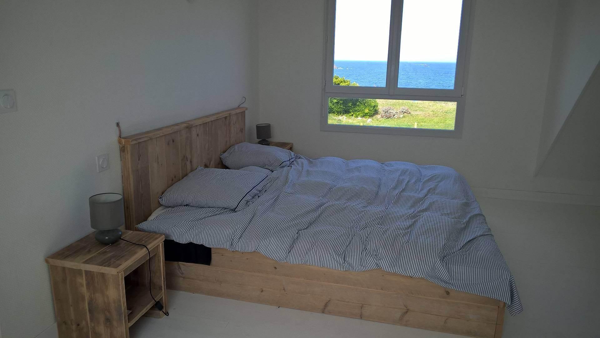 Location Kerlouan Chambre vue sur mer